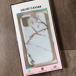 VELVET CAVIAR iPhone 11 marble phone case